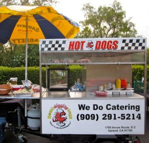 Bombdiggity Hot Dog Cart